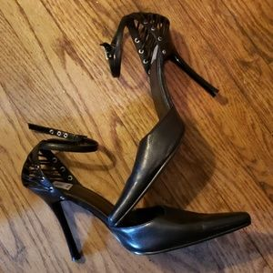 Bakers Ankle strap heels.  Sz 10